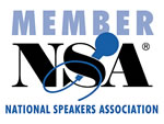 Member of National Speakers Association